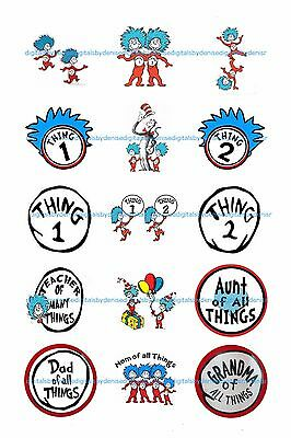 DR SEUSS THING 1 THING 2 2
