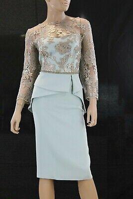 Abito da Cerimonia Donna Sonia Pena VA Evening Dress Elegant taglia 46...