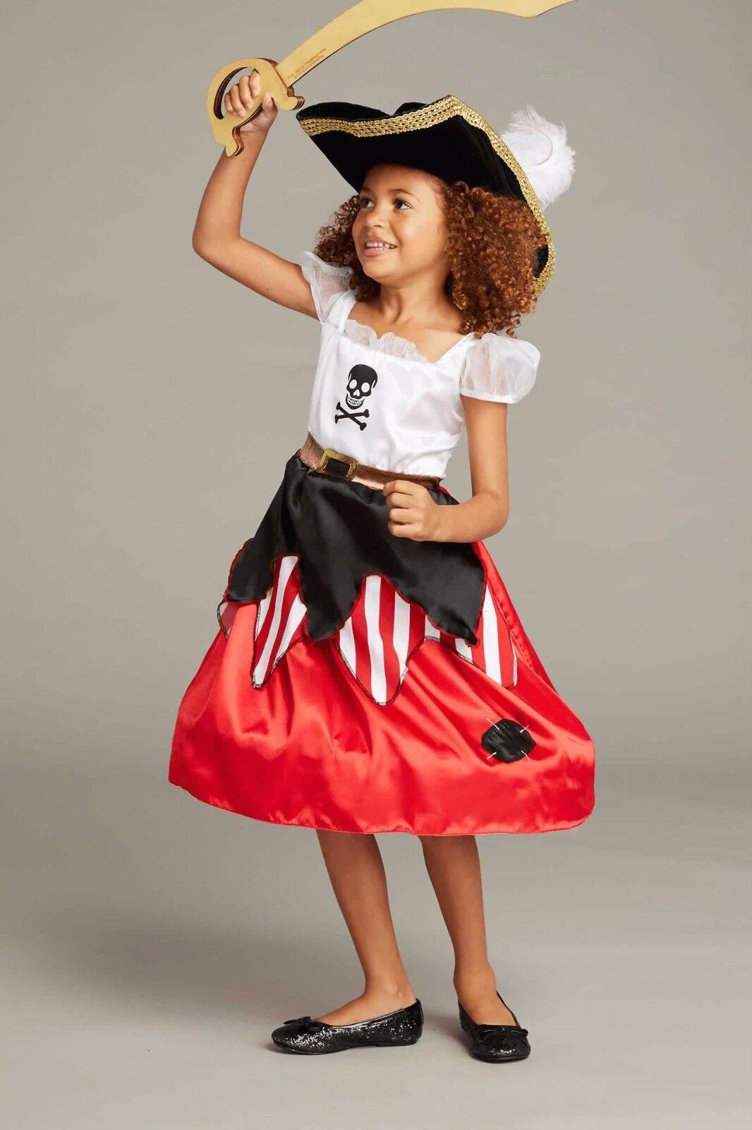 Chasing Fireflies Princess & Pirate for Girls Costume Revers