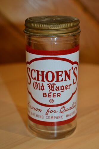 Vintage Wausau Brewing Co. Schoen