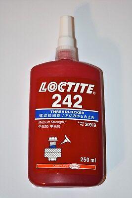 Loctite 242 Threadlocker Medium Strength 250ml Tube