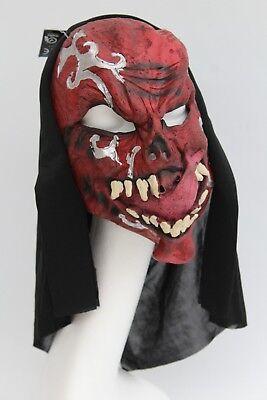 Adult Scary Devil Alien Halloween Mask Full Face Rubber Mask