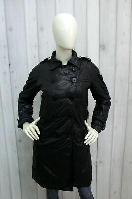Moncler femme milwaukee taille 1 (s) doudoune noire trench brillant