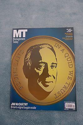 Management Today Magazine: June 2015, Jim McCarthy of Poundland