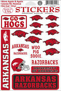 Arkansas Razorback Stickers