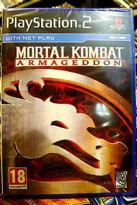 Mortal Kombat Armageddon PS2 Brand New Factory Sealed Uk Pal