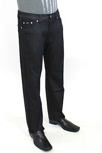 Hugo Boss Men's Jeans Texas Boot Cut Black or Jacksons Relaxed Bottom Blue NEW!!