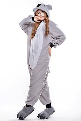 Koala Halloween Animal Kigurumi Cosplay Adult Onesie0 Pajamas Costumes Sleepwear