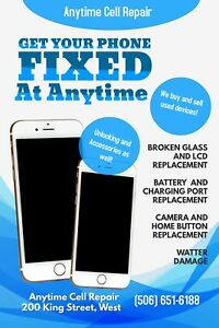 Get your phone fixed at anytime!