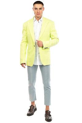 RRP €240 DIRK BIKKEMBERGS Blazer Jacket Size 54 / 2XL Peak Lapel Made in Italy