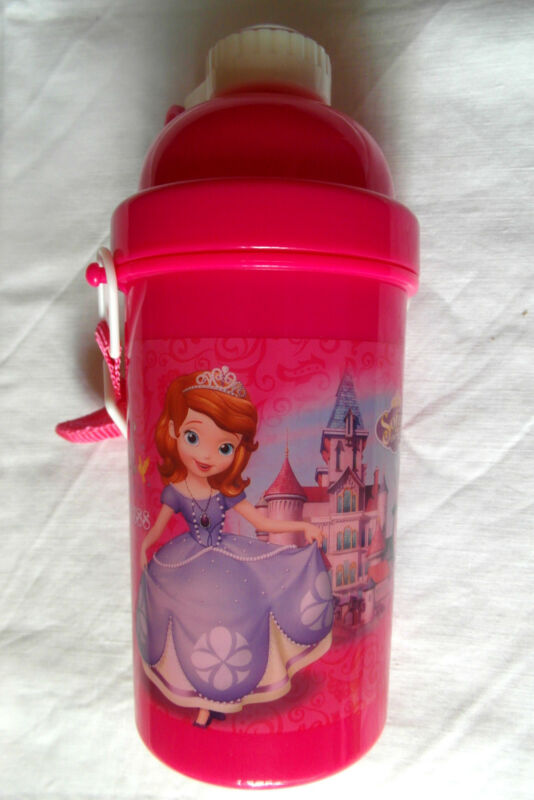 Disney+Sofia+the+First+Pop-Up+Water+Bottle+500ml