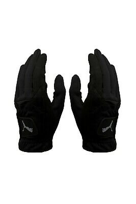 Puma MENS Cold Grip Winter Playing Gloves (PAIR) Suede / Thermal RRP£20