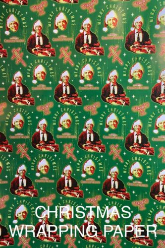 NATIONAL LAMPOONS CHRISTMAS VACATION - WRAPPING PAPER 20 SQ FT🎄🎁 FREE SHIPPING