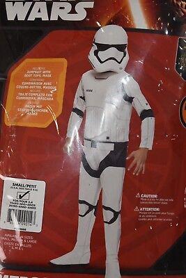 Starwars Dress Up (NEW Disney Star Wars Storm Trooper Dress Up Halloween Costume Small 4 6)