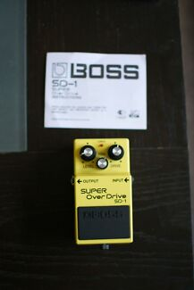Boss Super Overdrive SD-1 Crows Nest North Sydney Area Preview