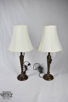 Vintage Style Table Lamps (4 Available)