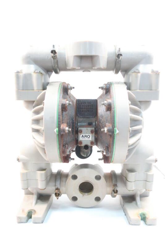 Ingersoll Rand 6661U3-344-C Aro Teflon Flanged Diaphragm Pump 120psi