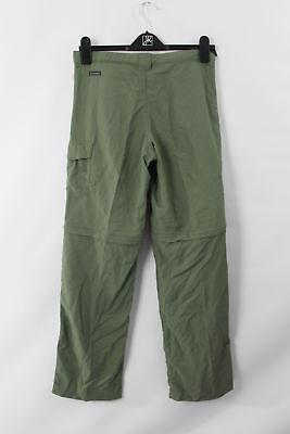 - Columbia Sportswear F8 Women Track Pants Olive Green OmniShade Convertible L New