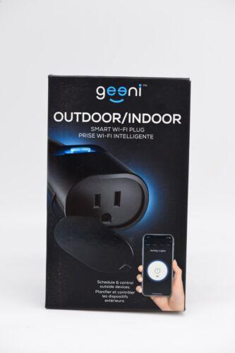 geeni Indoor/Outdoor Smart Wi Fi Plug GNC-OW101-101 Single Socket  New Sealed