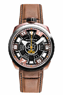 Bomberg BS45APBRBA.045-2.3 Men's Bolt-68 Swiss Automatic 45mm Brown Watch