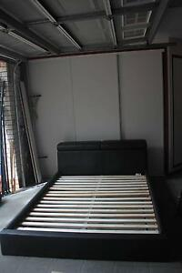 Queen Size Black Leather Bed, very good condition Bridgeman Downs Brisbane North East Preview