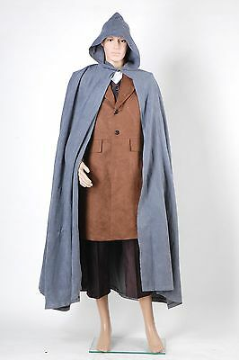The Lord of the Rings Frodo Baggin Cape Coat Outfit Cosplay Costume Set Tailored