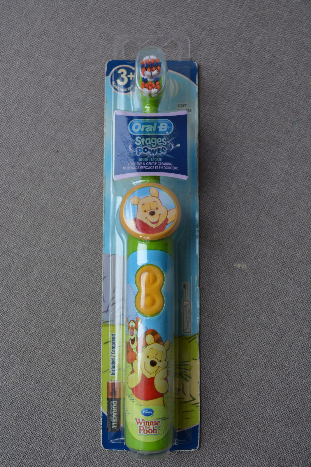 Oral-B Stages Power Winnie The Pooh Soft Tooth Brush