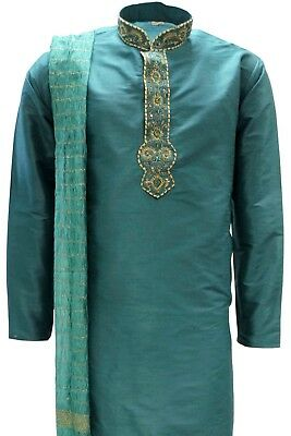 MKP9008 Men's Kurta Pyjama Churidar Salwar Kameez Indian Salwar Bollywood Outfit