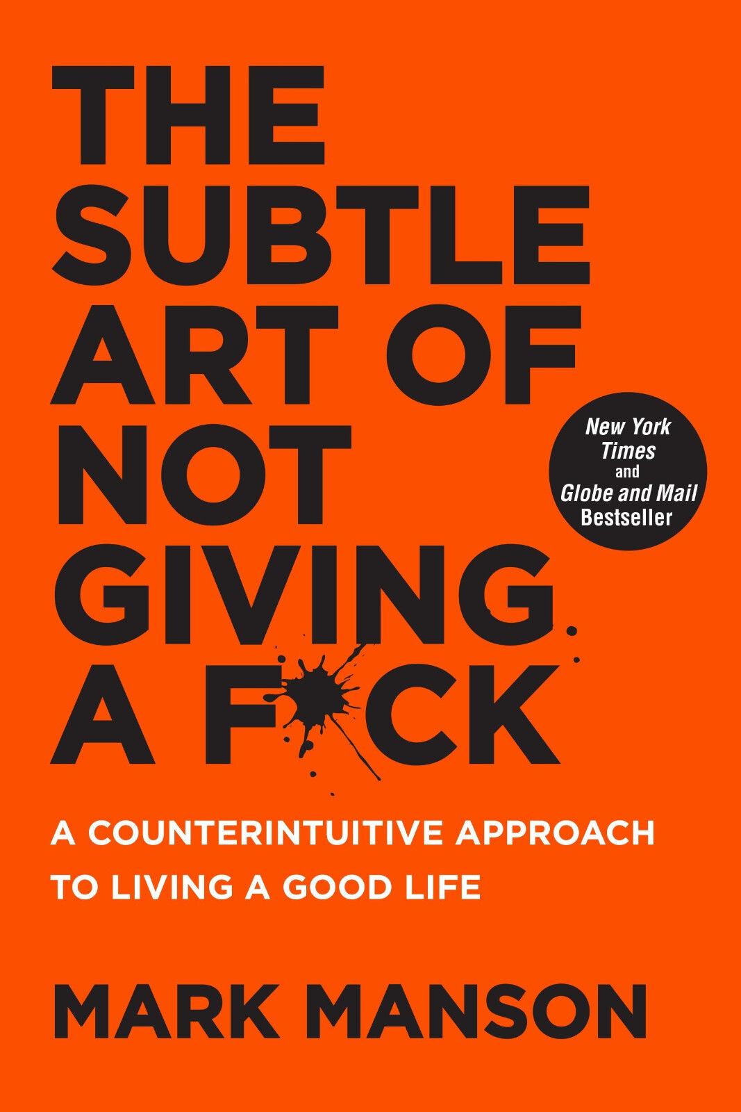 Купить The Subtle Art of Not Giving a Fck by Mark Manson (Paperback)