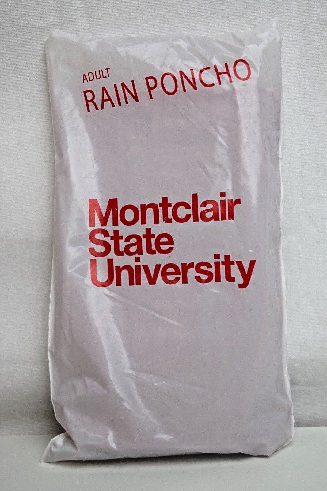NEW Made in USA-Adult One Size Clear Rain Poncho with Hood P