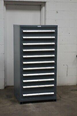 Used Nu-era 11 Drawer Cabinet Industrial Tool Parts Storage 2199 Vidmar