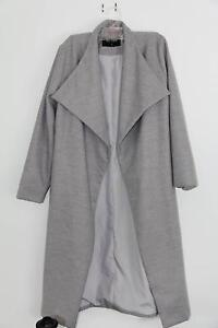 xs grey long coat- wool Elermore Vale Newcastle Area Preview