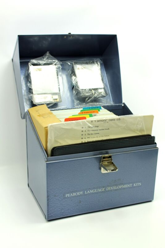 Vintage Peabody Language Development Kit Level #2 American Guidance Service