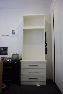 3 drawer shelf cabinet perfect condition
