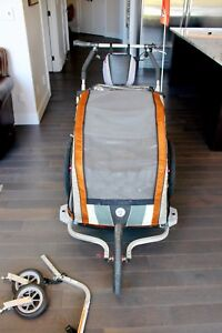 Chariot CX2 jogging stroller/ bike trailer