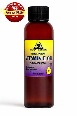 TOCOPHEROL T-50 VITAMIN E OIL ANTI AGING PREMIUM NATURAL PURE 2 OZ