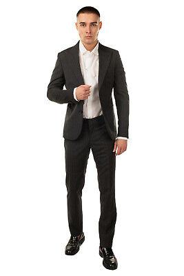 RRP €695 DANIELE ALESSANDRINI GREY Suit Mismatch Size 48 / M Trousers 50 / L
