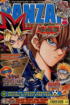 Carlsen Comics - BANZAI! Nr. 26/2003 - Dezember 2003 (Heft 26 von 50)