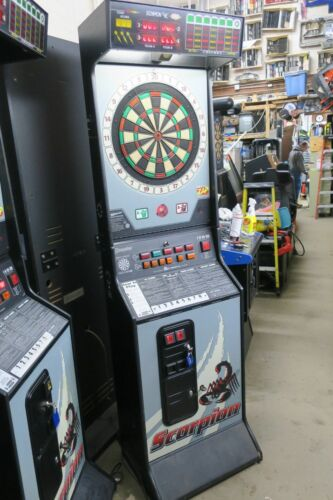 Sharp Scorpion 9000 Commercial Coin Operated Dartboard #1