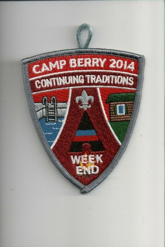 2014 Camp Berry Continuing Traditions patch