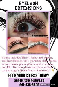 Eyelash Extensions Private Training $449