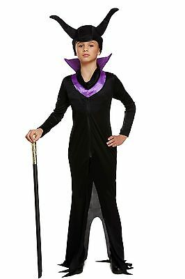 Girl Girls Maleficent Evil Queen Halloween Party Book - Halloween Kostüme Maleficent'