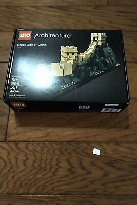 Lego 21041 Architecture Great Wall of China. NISB. Free + Fast Ship.
