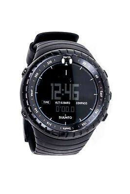 Suunto Core All Black Military Multi-Function Outdoor Sports Watch SS014279010