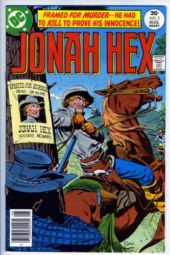 JONAH HEX #3 - 6.5, OW-W