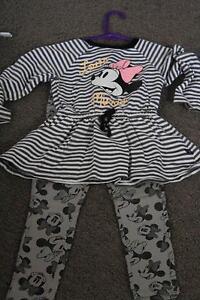 Size 2 Girls Minnie Mouse Outfit Latrobe Latrobe Area Preview