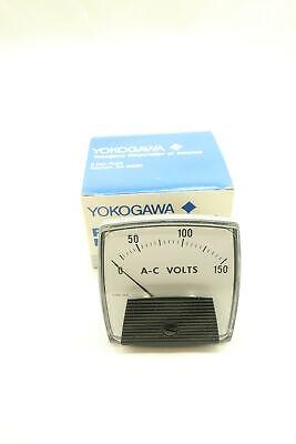 Yokogawa 250339pzzz Voltmeter 0-150ac Volt