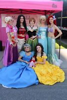 """Princess parties and events by """"Magical Melody"""""""