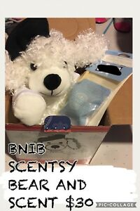 BNIB Poodle Scentsy Bear with unopened Scent