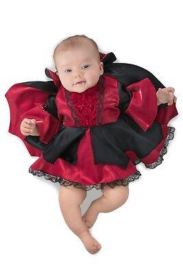 Infant Little Lil Victoria the Vampire Costume Baby Girls Newborn - 0-3 Months - Baby Girl Vampire Costume